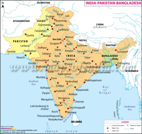 Distrbution: Pakistan: Indus Plain: India: confined to the Jamuna, the Ganges, the Brahmaputra and the Mahanada rivers; Nepal; Bangladesh, the major rivers.